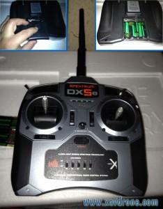 télécommande blade 350 QX