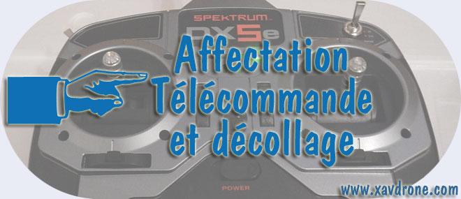affectation telecommande