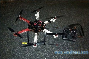drone de contrebande