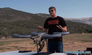 drone mitrailleur