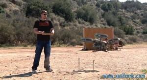 quadrotor gun
