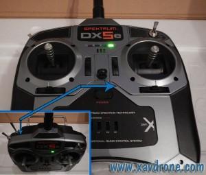 telecommande dx5e