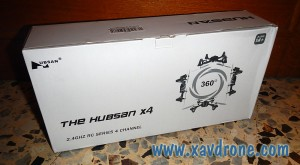 unboxing hubsan X4