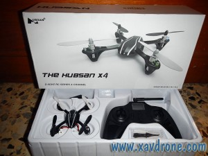 packaging hubsan X4