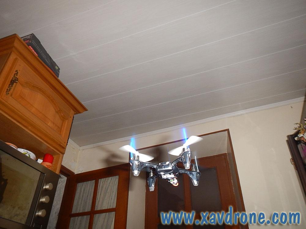 Hubsan x4 un mini drone for Interieur x4