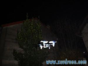 hubsan X4 vol de nuit