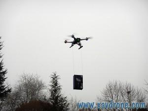 livraison 2ds en drone