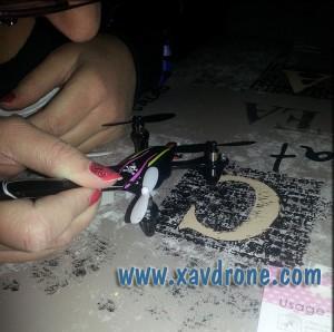 Nail Art sur Drone
