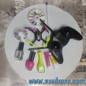 DroneArt : vernis à ongles et drone