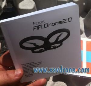 notice ar drone 2.0