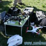 démonstration drones