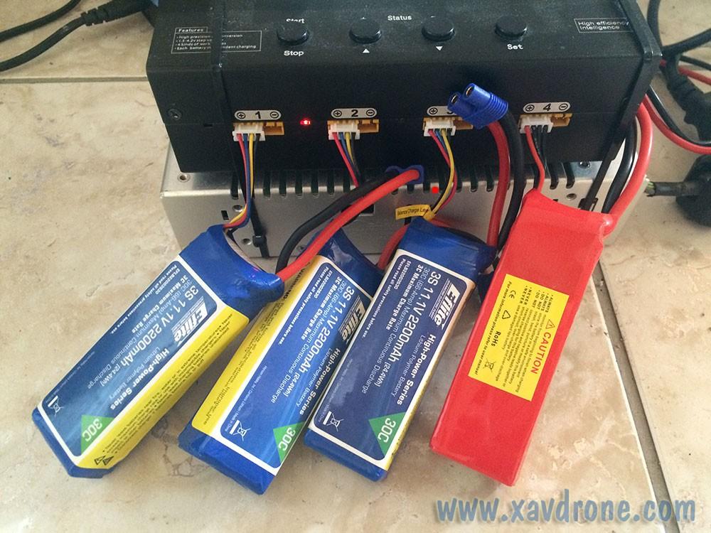Chargeur De Batteries Drone Test News Et Tuto Drones