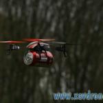coca livré en drone