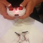 vol avec un mini drone