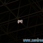 mini drone en plein vol