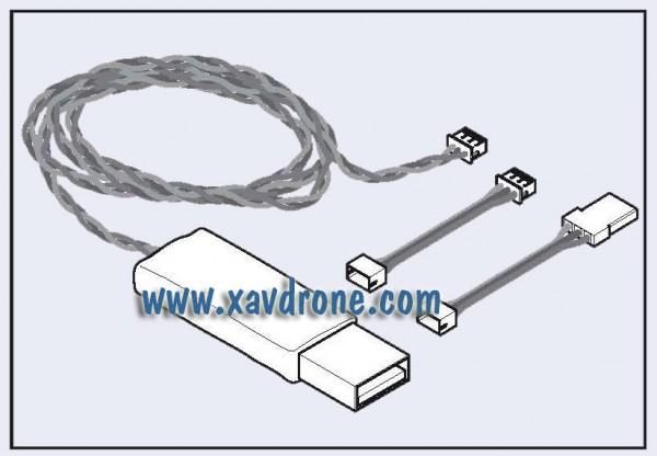 cable mise à jour 350 QX