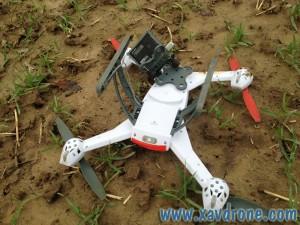 crash de drones
