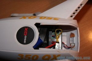 accès batterie 350qx