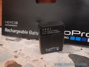 batterie gopro hero 3