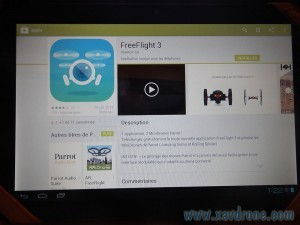 freeflight 3 sur GooglePlay