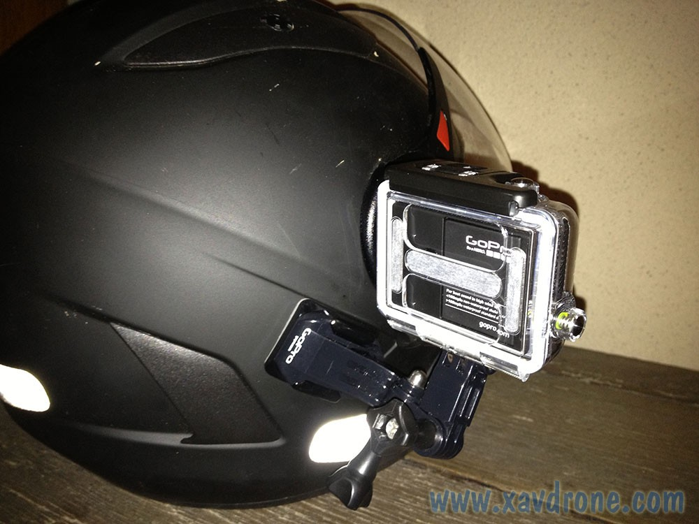 gopro fix sur casque moto. Black Bedroom Furniture Sets. Home Design Ideas