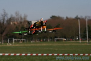 gopro 2 sur drone