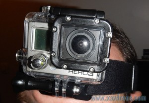 camera gopro et fixation frontale