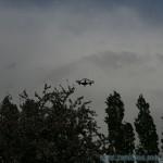 drone hubsan x4 fpv en vol