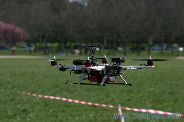 mobius sur drone