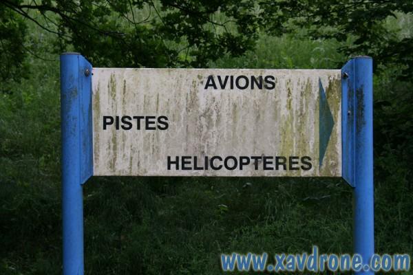 piste hélicoptères