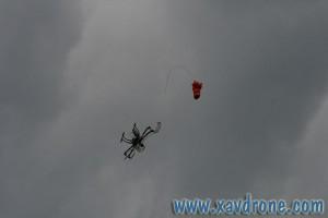déclenchement parachute