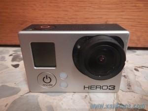 caméra gopro hero 3