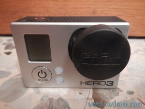 protège lentille gopro hero 3