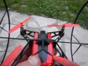 mises en place roues rolling spider