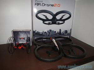 rolling spider et ar drone