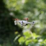 vidéo à partir d'un drone