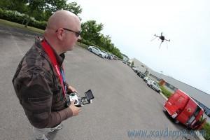 Tournage Besancon avec drones