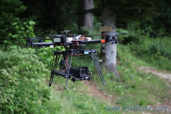 Tournage TF1 avec drone