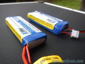 batterie batterie eflite gonflée