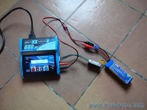 batterie Lipo en charge