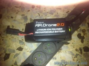 batterie ar drone chargée