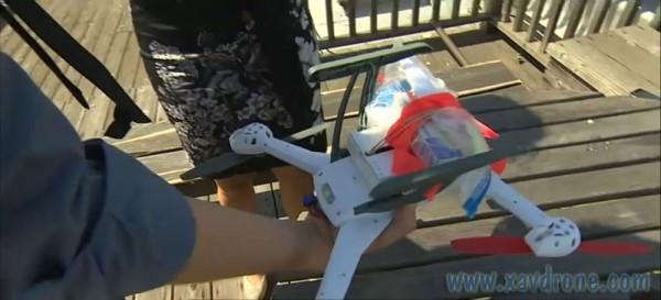 livraison médicaments par drone