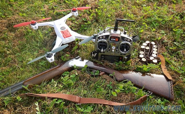 chasse et drone