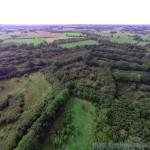 photo aérienne prisent par drone