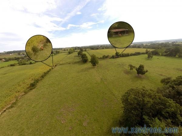 photos de chasse par drone