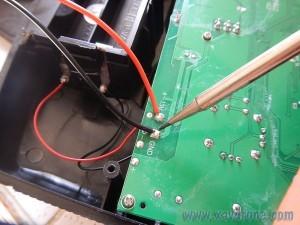 soudure fil radiocommande