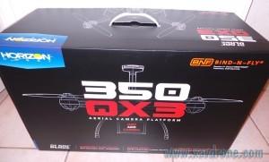 boite blade 350 qx3