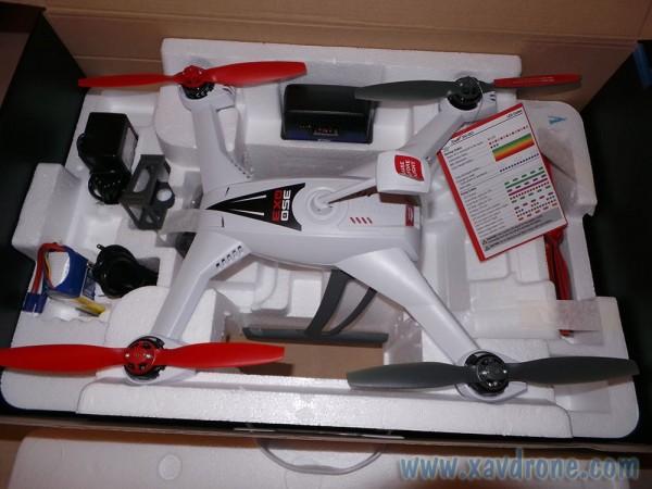 déballage blade 350 qx3