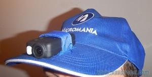 casquette caméra mobius