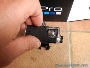 ouverture gopro hero 3+ black edition